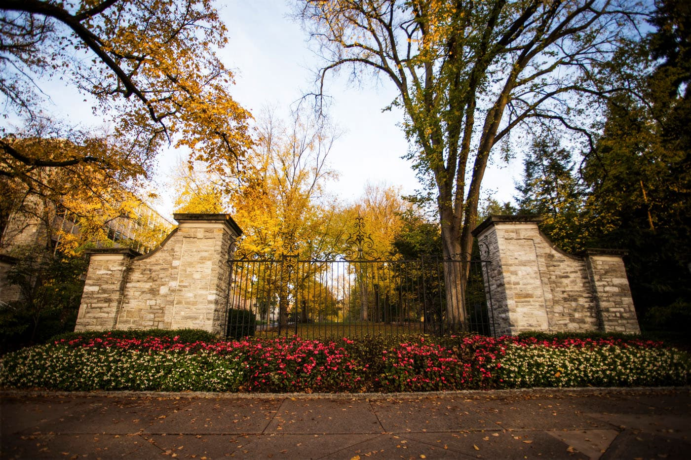 Allen St. Gates, Autumn by Bob Lambert Photography
