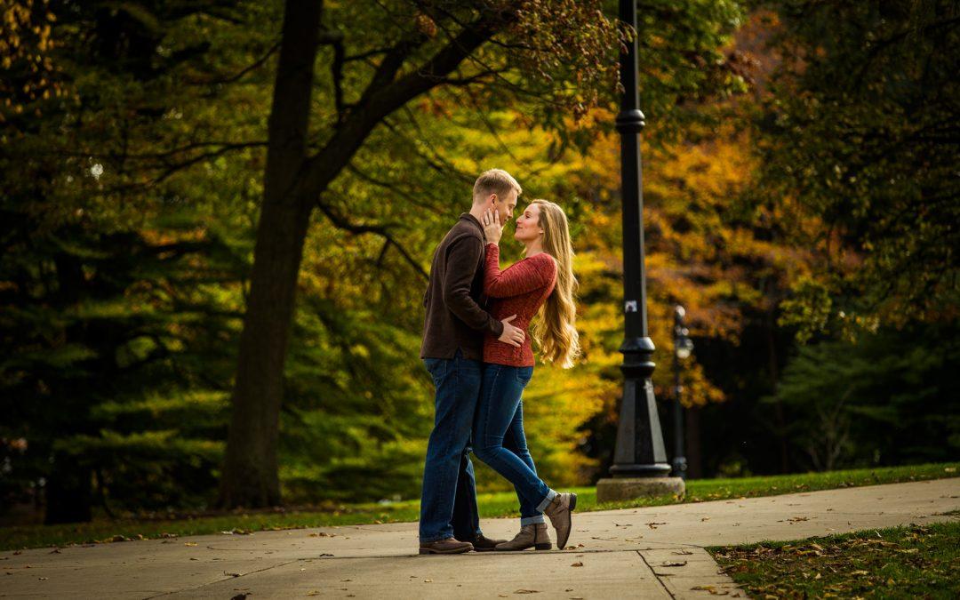 Kassandra & Elliott   Penn State Engagement