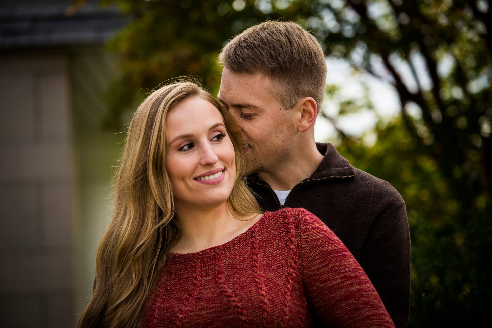 Penn State Engagement Photo, State College, PA - Bob Lambert Photography