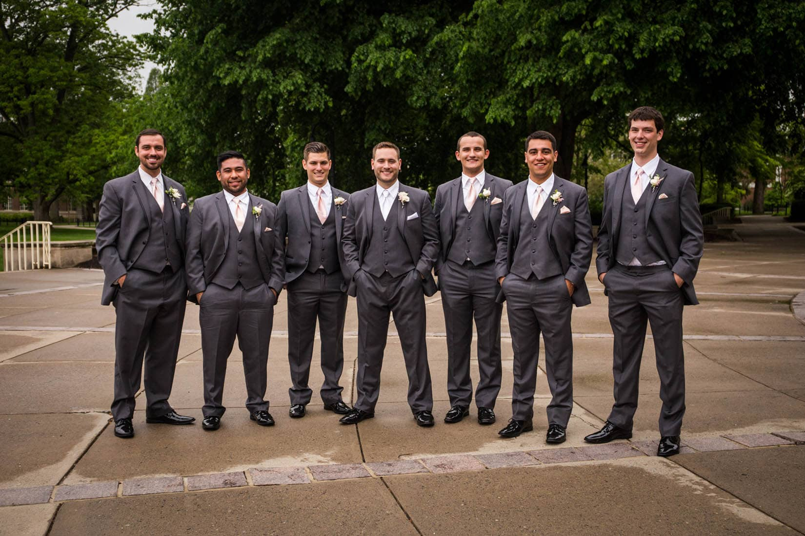 Penn State Wedding, Old Main – Bob Lambert Photography