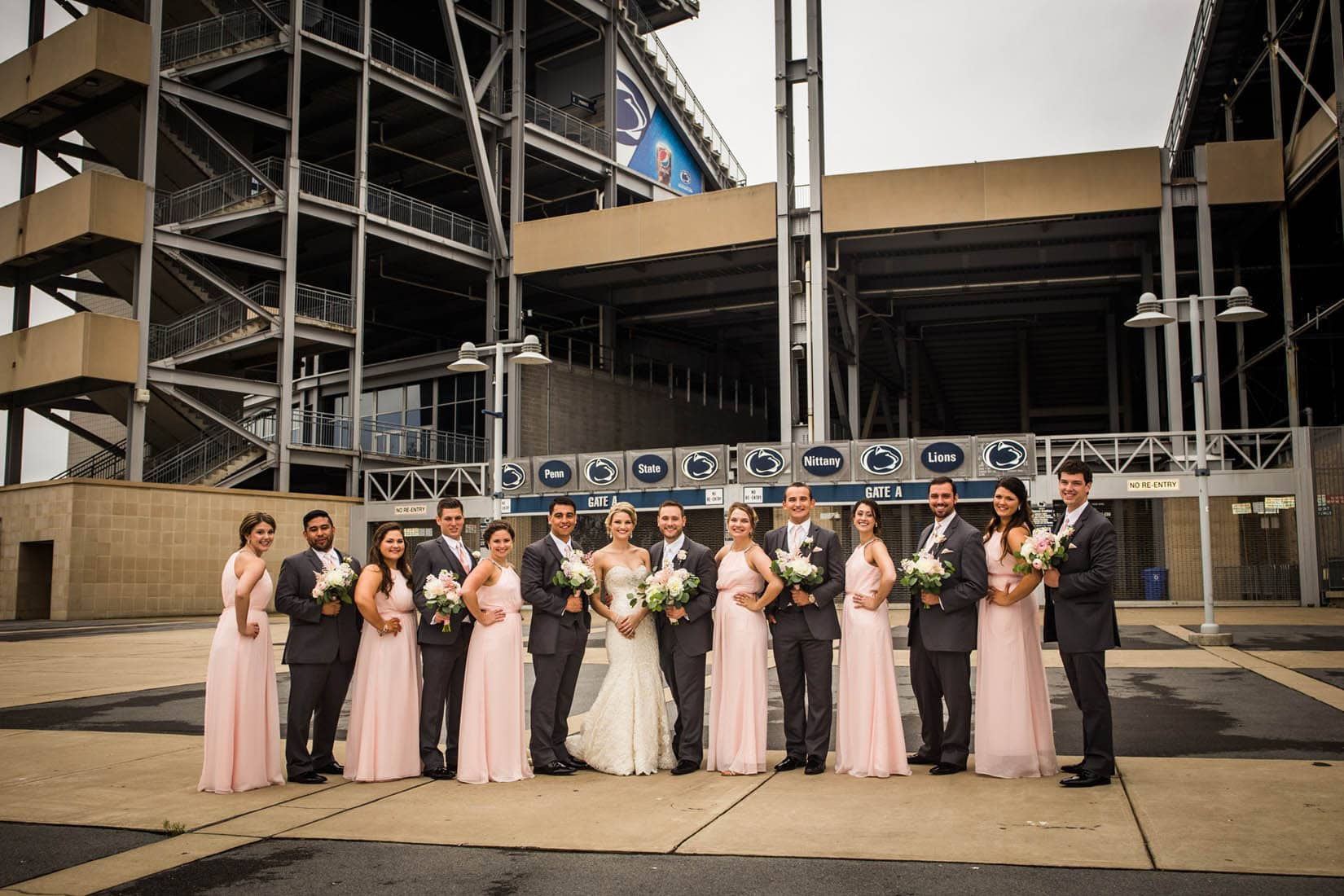 Penn State Wedding, Beaver Stadium – Bob Lambert Photography