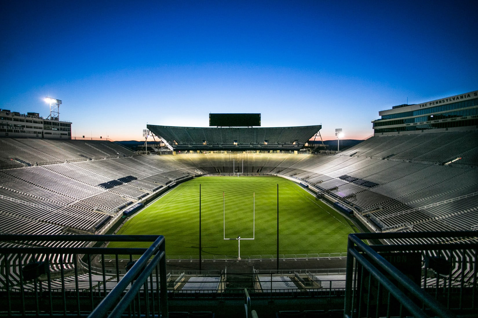 Sleeping Stadium, by Bob Lambert Photography (Penn State, State College, PA)