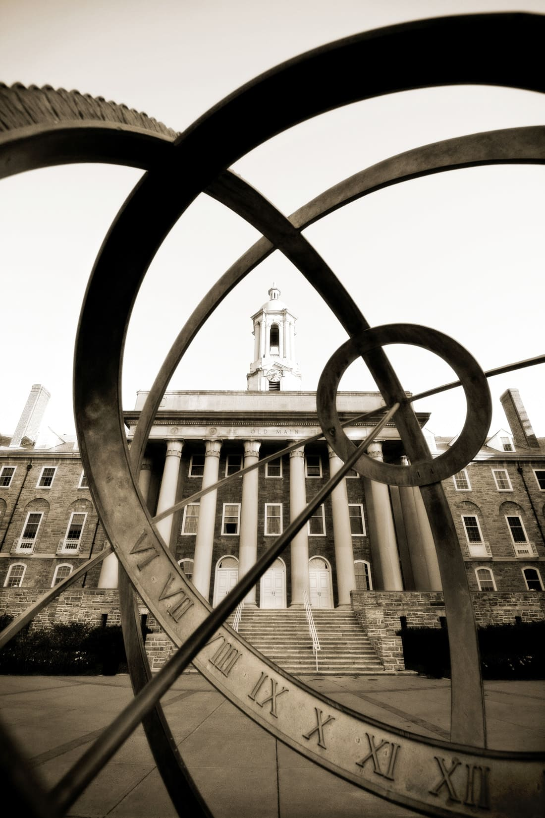Old Main 6:44 a.m., by Bob Lambert Photography (State College, PA)
