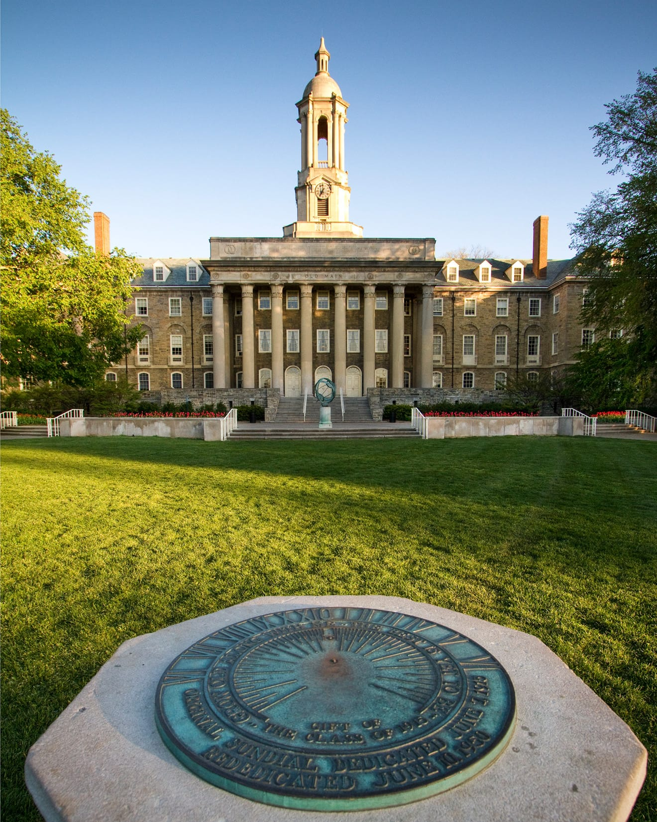 Sundial, Old Main, by Bob Lambert Photography (State College, PA)