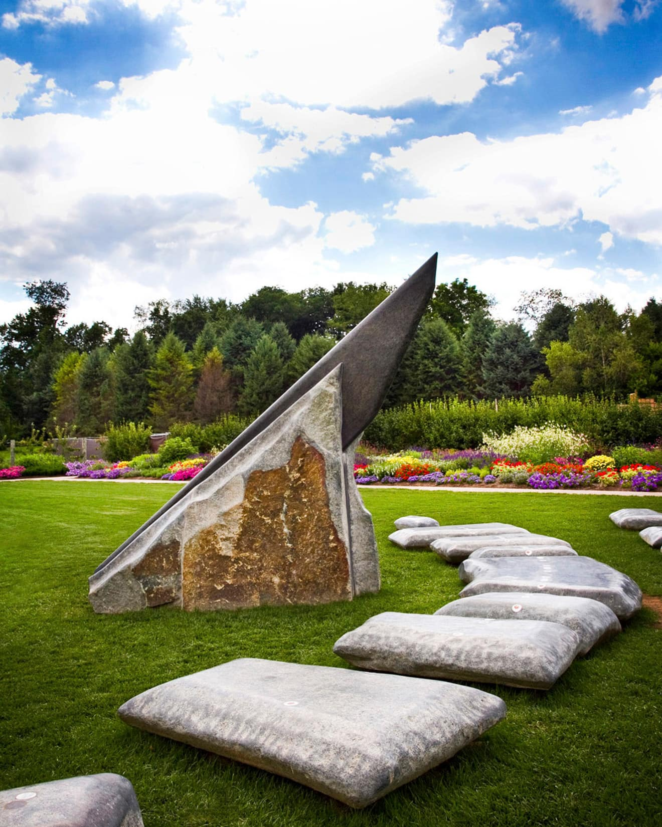 Sundial, Penn State Arboretum by Bob Lambert Photography (State College, PA)