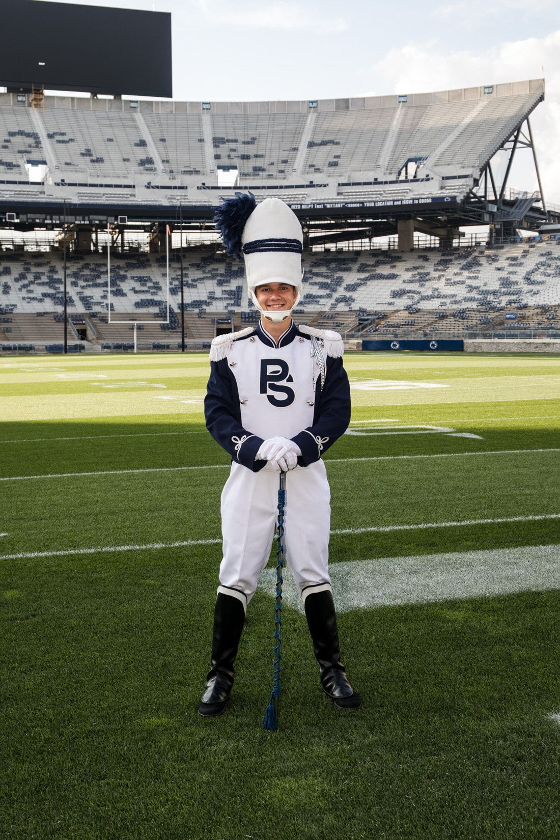Penn State Blue Band, Beaver Stadium, State College, PA - Bob Lambert Photography