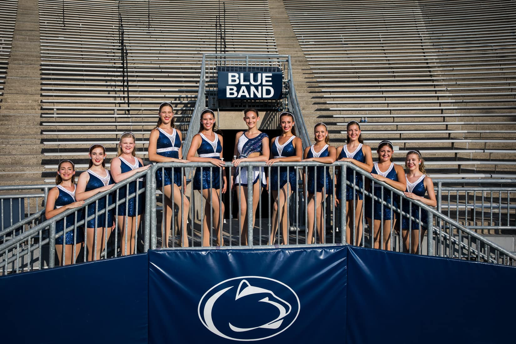 Penn State Blue Band, Beaver Stadium - Bob Lambert Photography, State College, PA