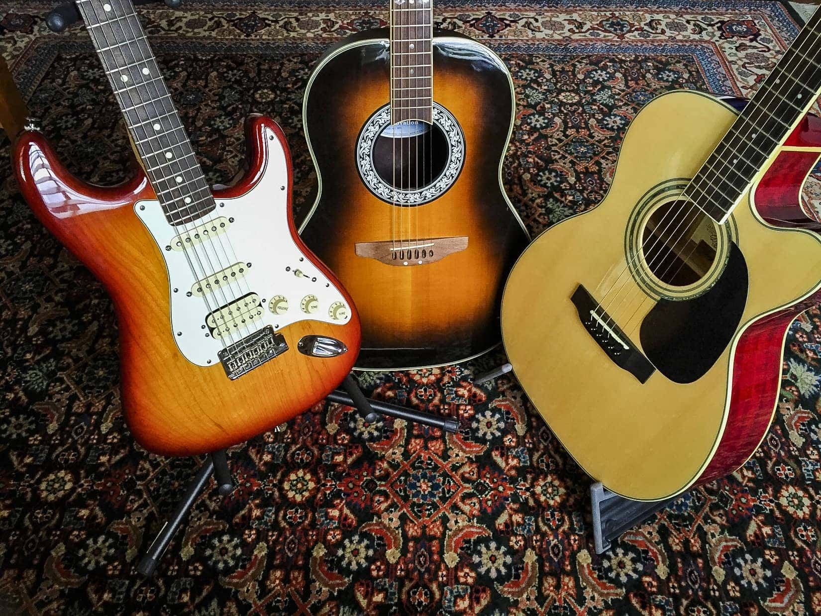 These guitars